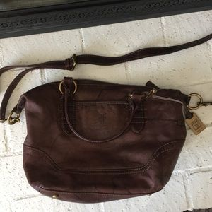 Frye leather purse
